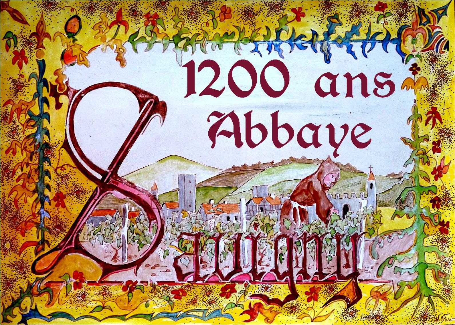 1200 ans abbaye de savigny savigny 69210 sur fetes. Black Bedroom Furniture Sets. Home Design Ideas