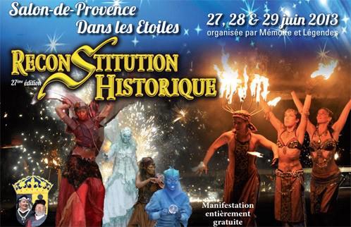 Reconstitution historique salon de provence sur le - Reconstitution historique salon de provence ...